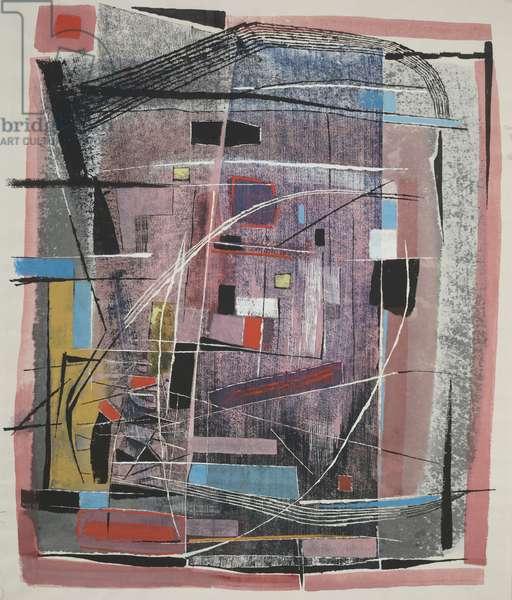 #4, 1958 (gouache)