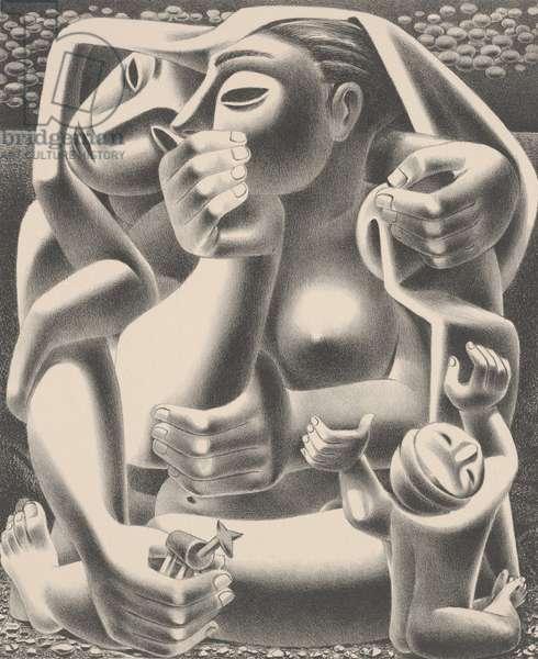 Where, 1948 (litho)