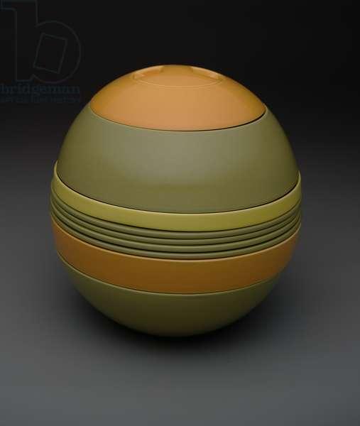 Avant-Garde Sphere (La Boule), designed 1969-1970 (earthenware)
