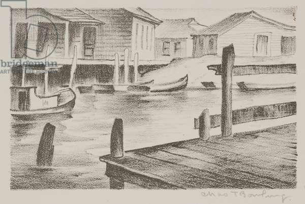 Fishing Port (litho)