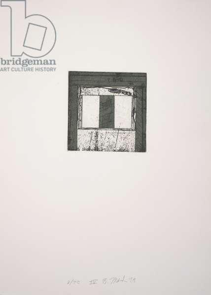 Focus IV, 1979-1980 (etching, aquatint)