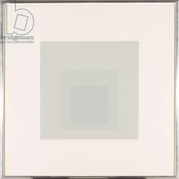 Gray Instrumentation II, 1975 (silkscreen)