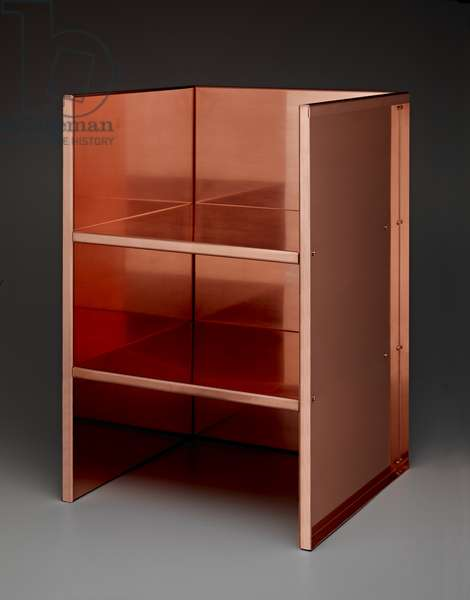 Chair, made 1998, designed 1984 (copper)
