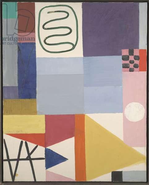 Composition: Still Life, 1947 (oil on canvas)