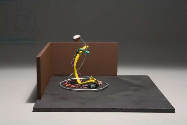 """Model for """"Dallas Snake"""", 2006 (painted metal)"""