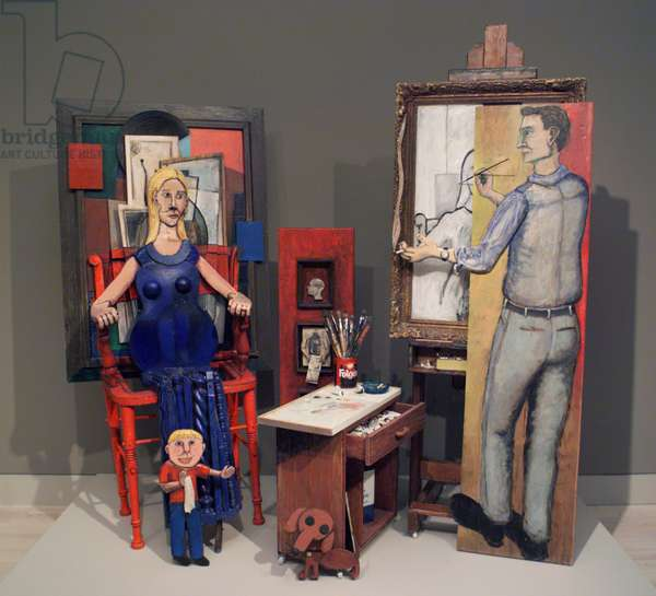 Family Portrait 1963, 2001 (mixed media)
