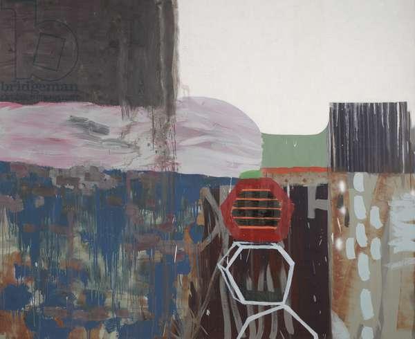 Untitled (Let's Get Lyrical), 2007 (oil & enamel on canvas)