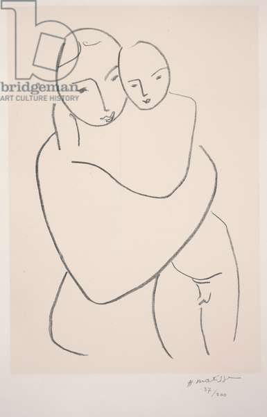 Virgin and Child (Vierge et Enfant), 1950 (litho)