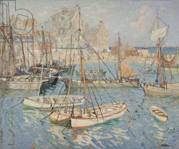 Fisherman's Quarters, c.1915 (oil on canvas)