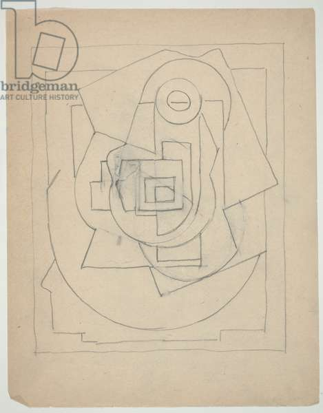 Drawing, June 3, 1924 (graphite on paper)