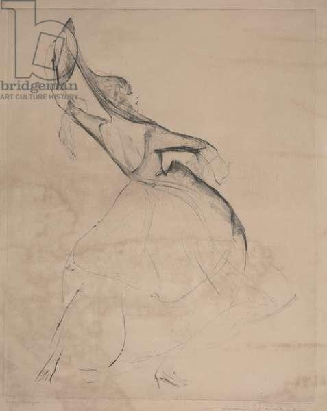 Elsa Koniger (etching)
