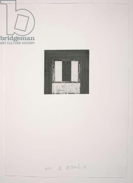 Focus V, 1979-1980 (etching, aquatint)