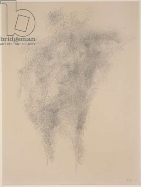 Female Nude, 1960 (pencil on paper)