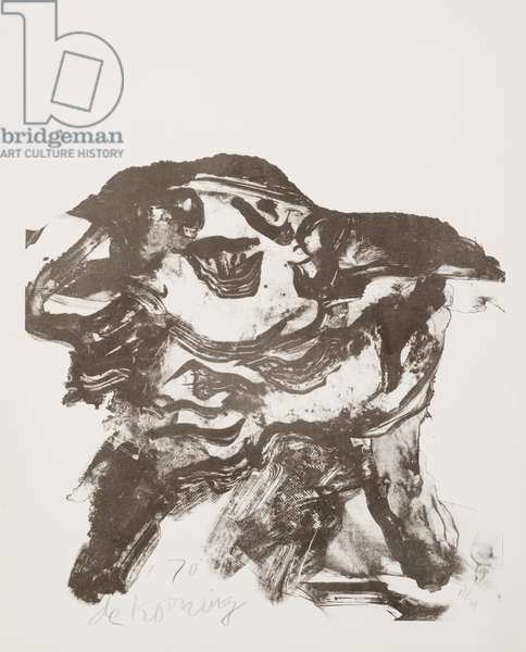 Clam Digger, 1970 (litho)