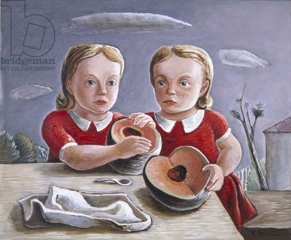 Twins, 1939-1940 (oil on canvas)