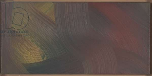 Red-Blue-Yellow (Rot-Blau-Gelb), 1973 (oil on canvas)