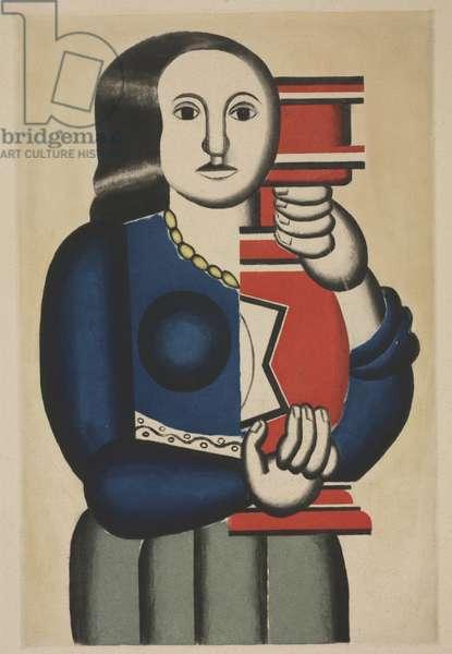 Femme a la Cruche, 1928 (aquatint & roulette)