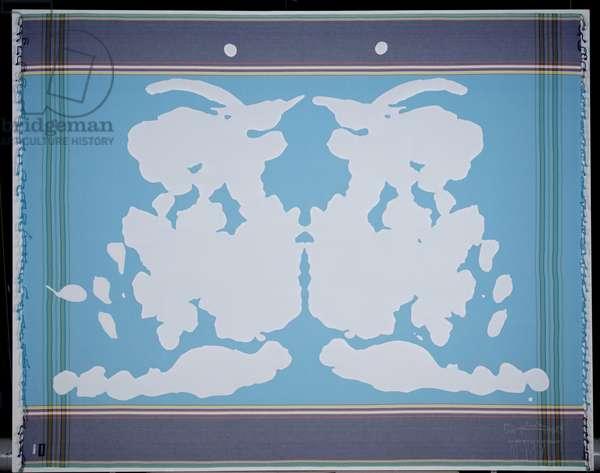 RORSCHACHTEST #4, 2006 (cotton and linen)