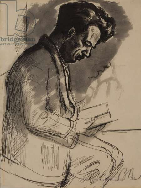 Tom Benton (ink wash on paper)