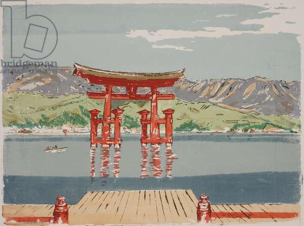 Torii, Japan, 1959 (silkscreen)