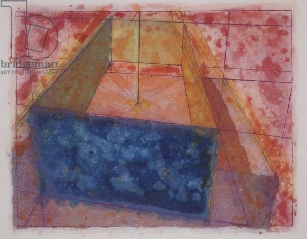 Big Open Box, 1975 (colour intaglio)