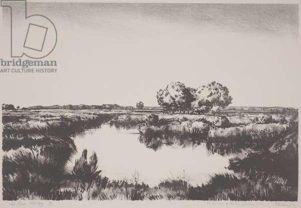 The Pecos Valley (lithograph)