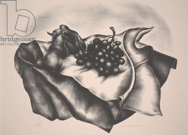 Still Life, 1930 (lithograph)