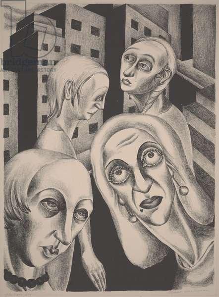 The Fair Sex, c.1933-1934 (lithograph)