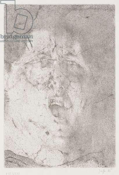 Selbstbildnis, or Self Portrait, 1965 (etching)