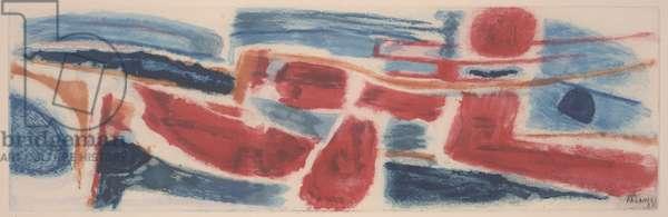 Xenogenese, 1951 (colour litho)