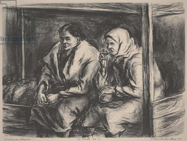 Displaced Persons, 1946 (litho)