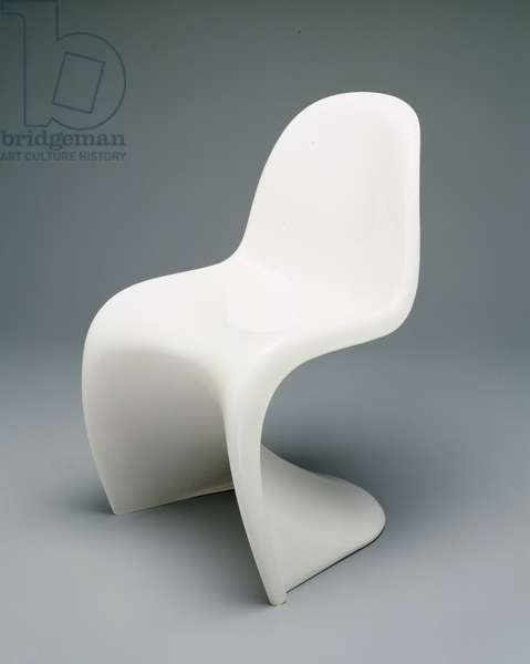 Stacking Chair, designed 1960 (molded plastic)