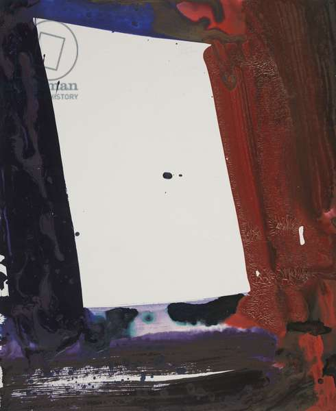 Untitled, 1965 (acrylic on paper)