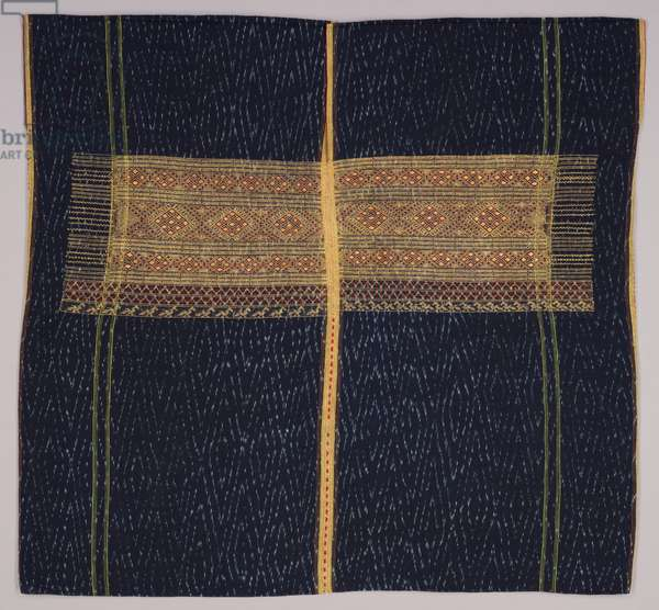 Woman's ceremonial tunic, c.1900 (cotton and silk)
