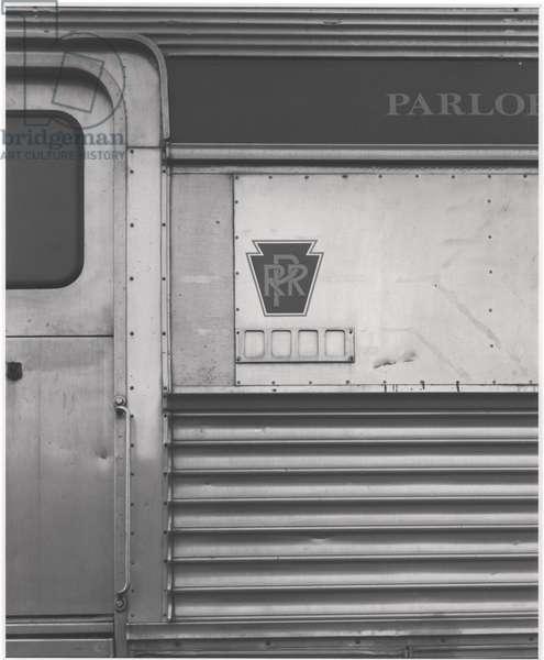 Pennsylvania Railroad, 1990 (gelatin silver print)