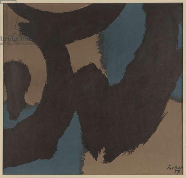 Senses, 1959 (colour litho)