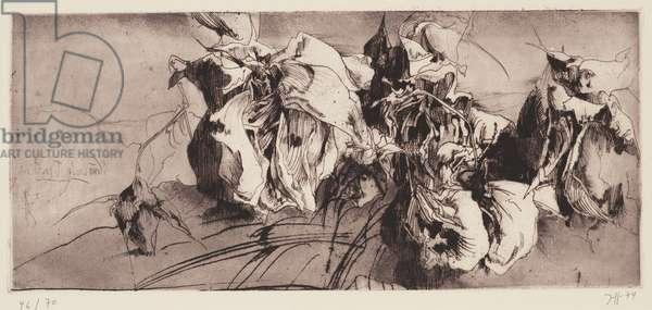 Sic Transit Gloria Mundi, 1974 (etching)