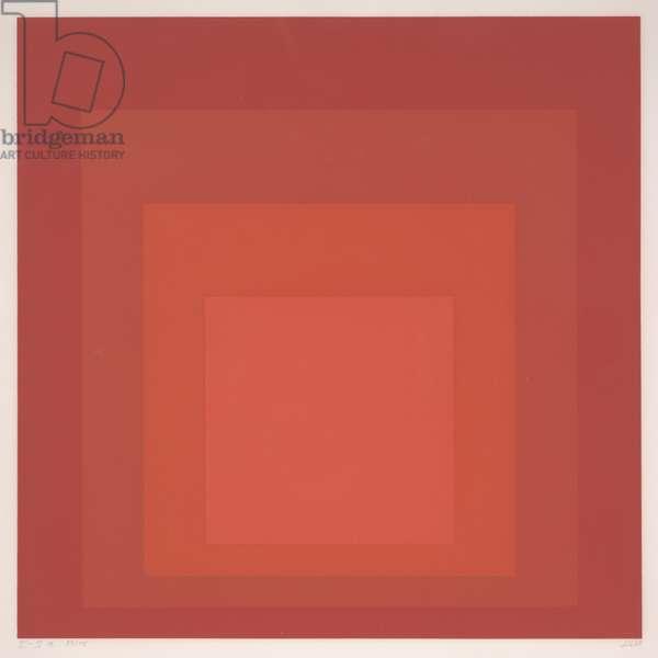 Homage to the Square I-Sa, 1968 (silkscreen)