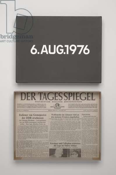 6. Aug. 1976, 1976 (liquitex on canvas)