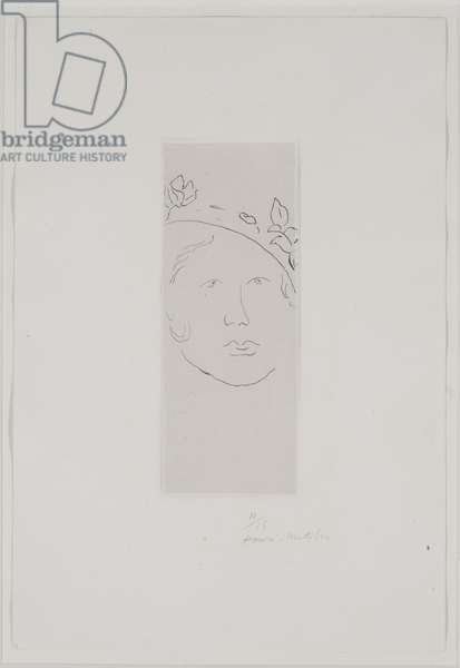 Loulou, 1914 (etching)