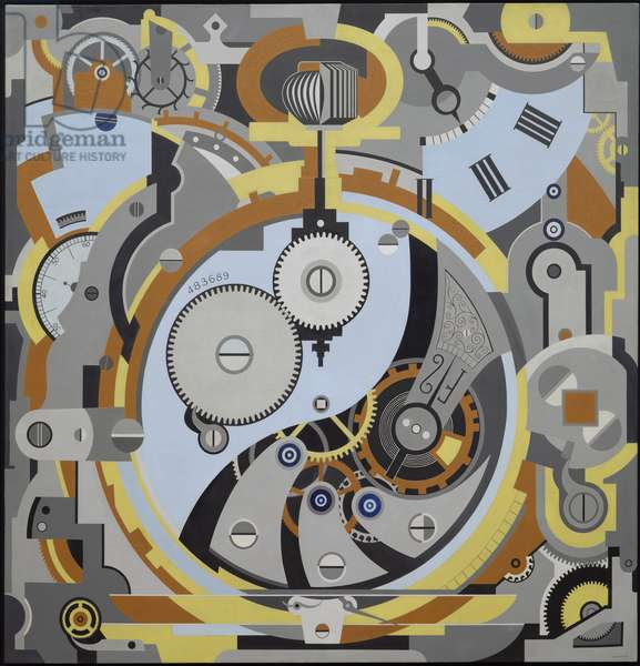 Watch, 1925 (oil on canvas)