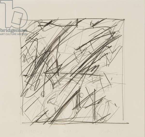 Untitled, 1987 (mixed media on paper)