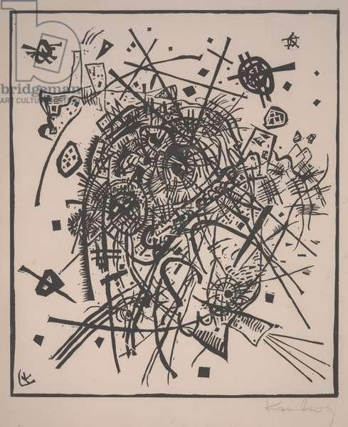 Small Worlds VIII (Kleine Welten VIII), 1922 (woodcut)