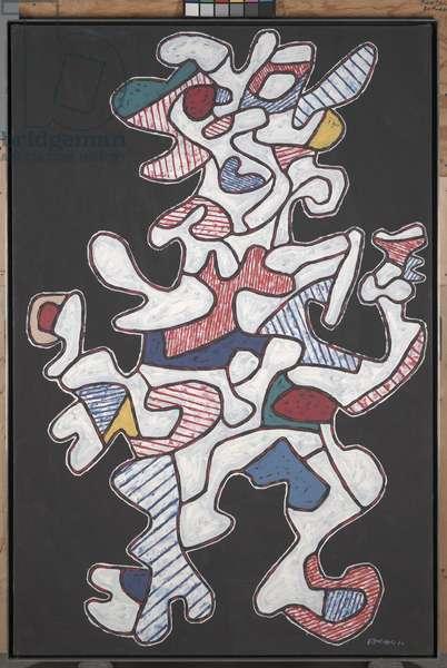 The Reveler, or Le Festoyeur, 1964 (oil on canvas)