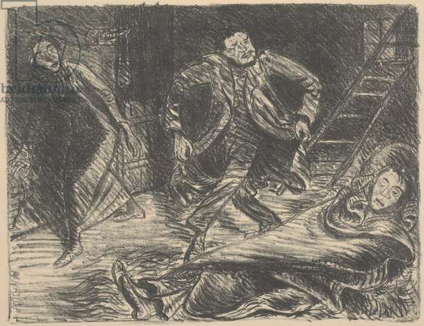 Desperate Dance, illustration for the play