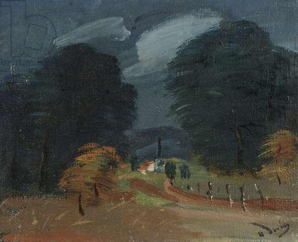 Landscape, 1926 (oil on canvas)