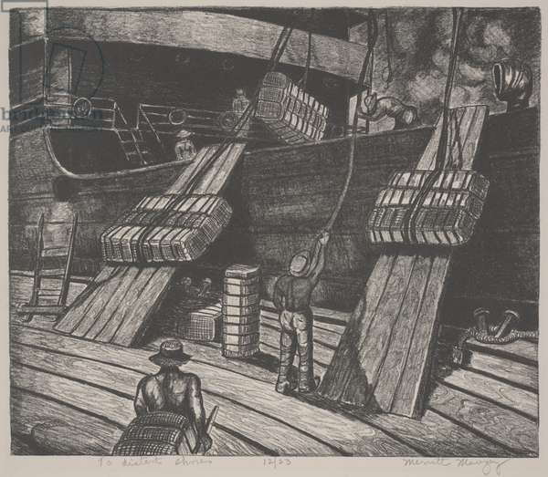 To Distant Shores (litho)