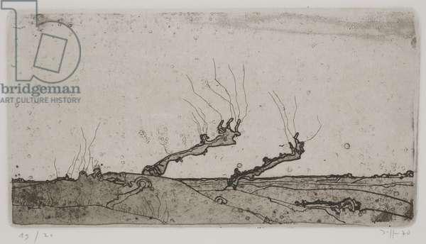 Landschaften, or Landscapes, 1970 (etching)