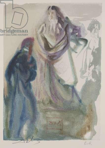 Canto 95 - The Walk Toward God, c.1960 (woodcut)