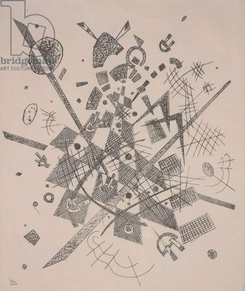 Small Worlds IX (Kleine Welten IX), 1922 (etching & drypoint)